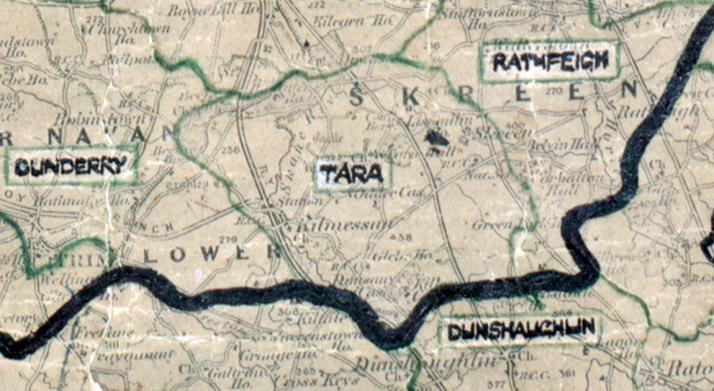 Tara map -dundalk-big
