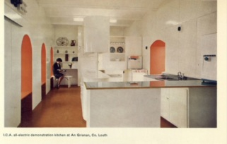 ICA Electrical Demonstration Kitchen ESB Annual Report 1963-1964