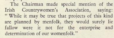 ESB internal publication, Journal 1963. Chairman Mr Murray speaking at An Grianan