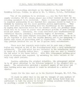 Muintir na Tire Rural Week. ESB internal publication, REO News October 1959