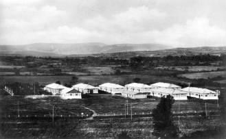 Camp site and living quarters