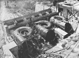 Installation of penstocks