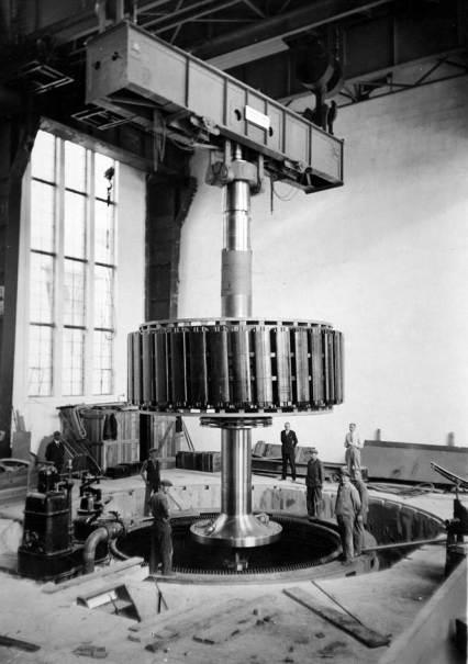 Installation of Turbine