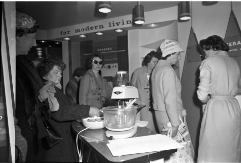RDS home exhibit, 'For Modern Living', 7 May 1960