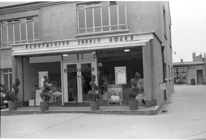 ESB Offices Chapel St Dundalk 1955