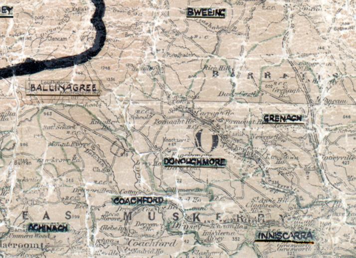 Donoughmore-Map-cork