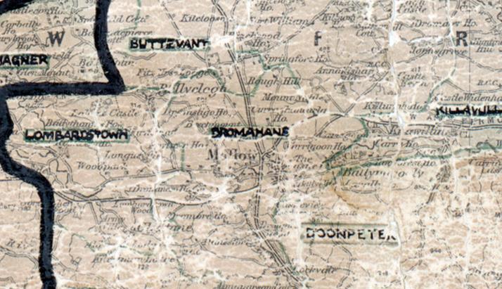 Dromahane-map-cork