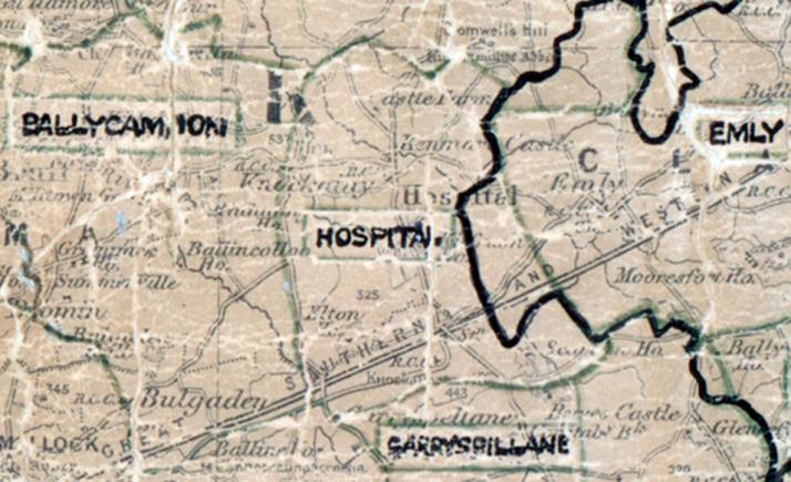 Hospital-map-limerick