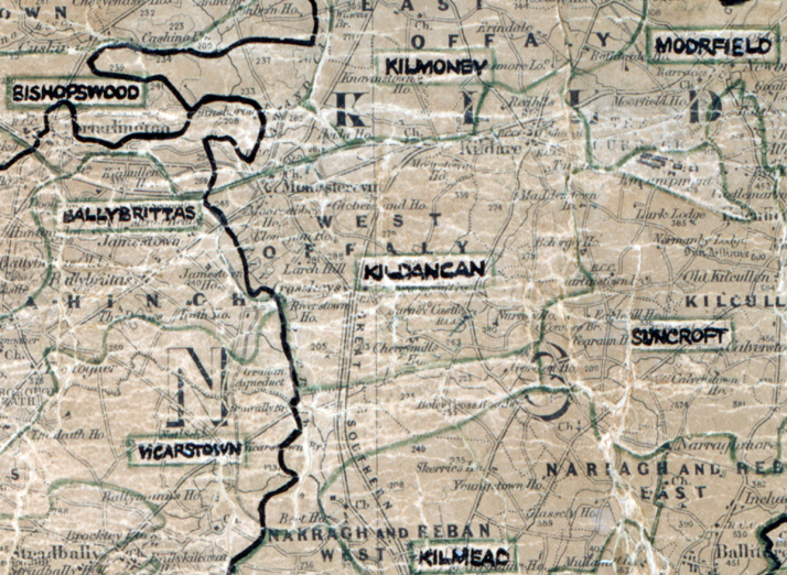Kildangan-map-portlaoise