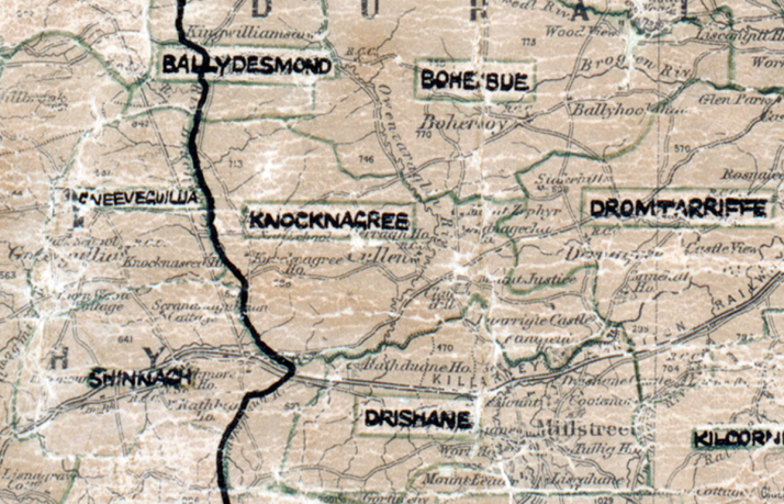 Knocknagree-map-tralee