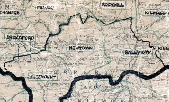 Newtown Map Limerick
