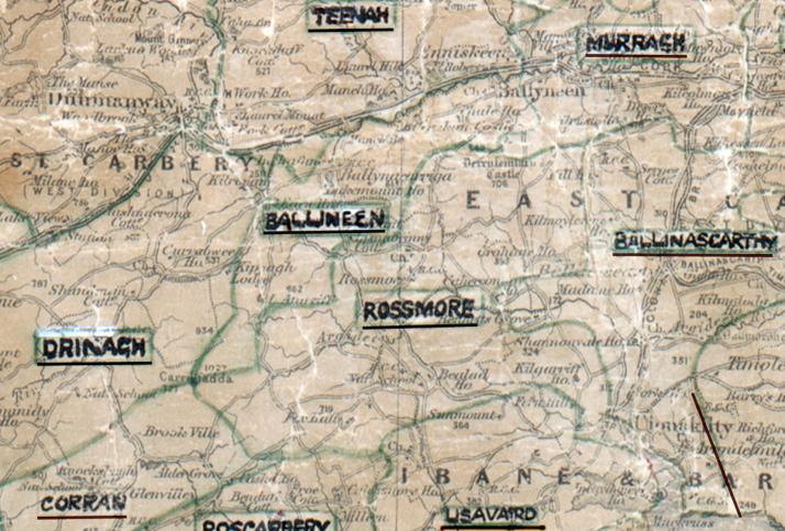 Ballineen-Map-cork