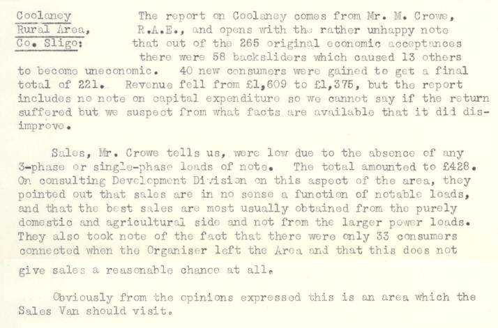Coolaney-R.E.O.-April-1954-P