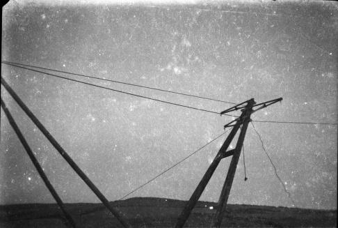 Hoisting the poles