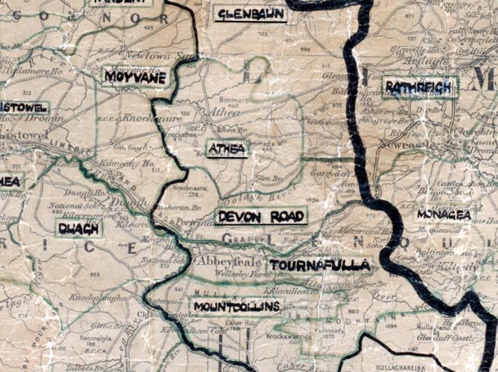 Devon-Road-Map limerick