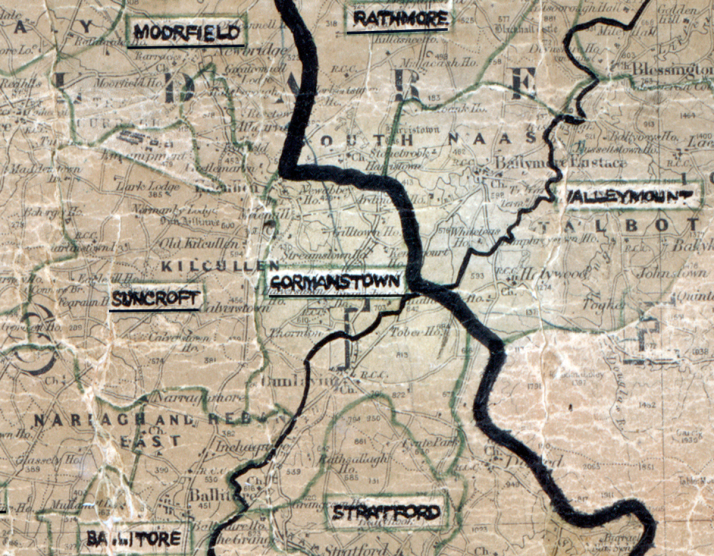 Gormanstown-Map-portlaoise
