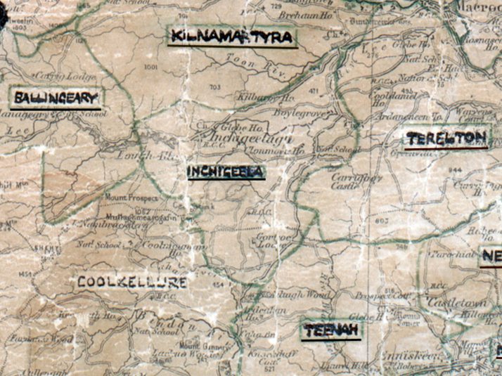 Inchigeela-Map-cork