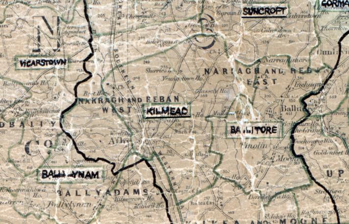 Kilmead-Map-portlaoise