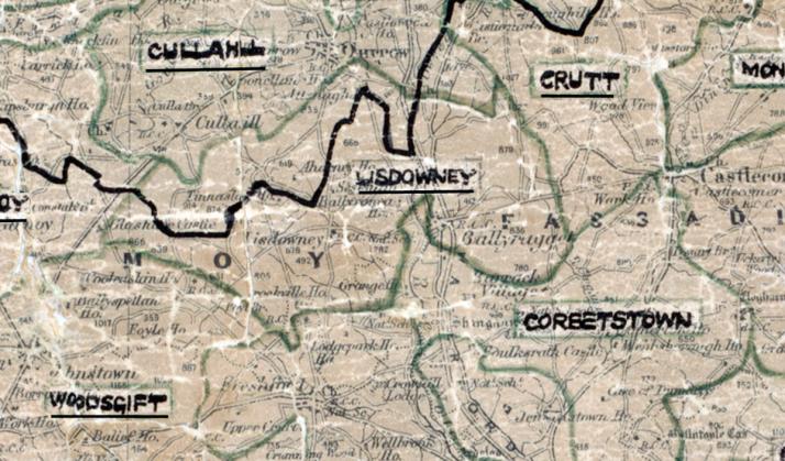 Lisdowney-Map-portlaoise