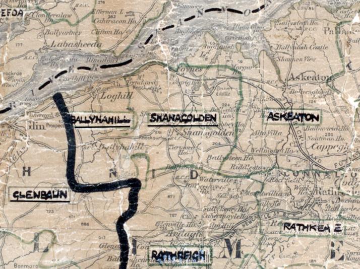 Shanagolden-Map-limerick