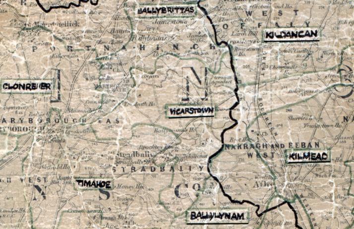 Vicarstown-Map-portlaoise