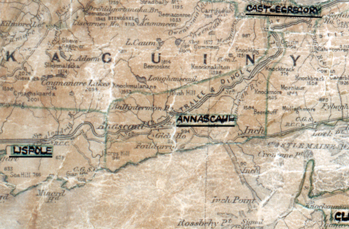 Annascaul-Map-tralee