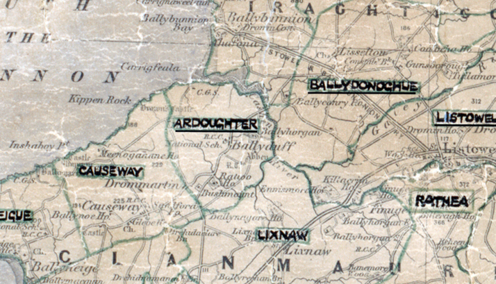 Ardoughter-Map-tralee