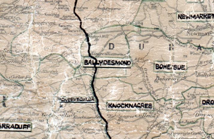 Ballydesmond-Map-tralee
