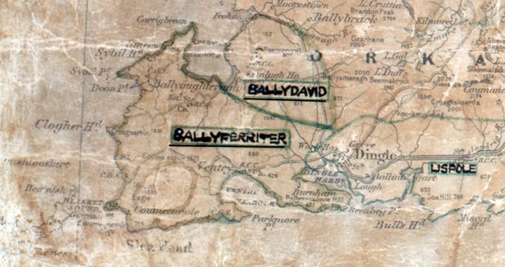 Ballyferriter-Map-tralee