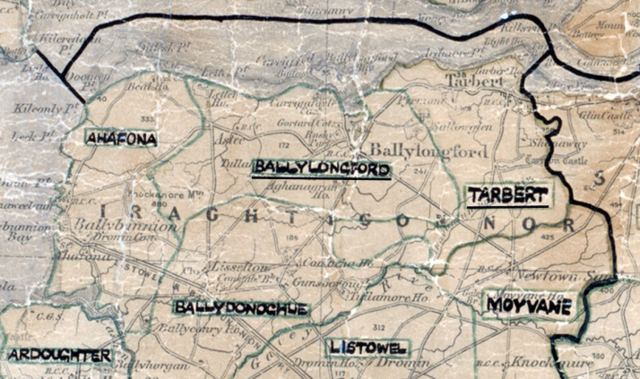 Ballylongford-Map-tralee