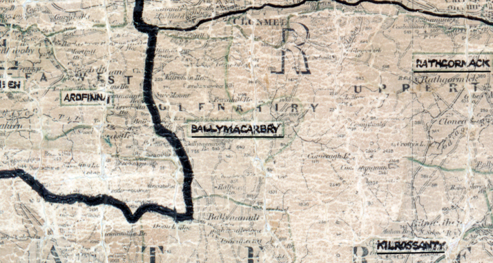 Ballymacarbry-Map-waterford