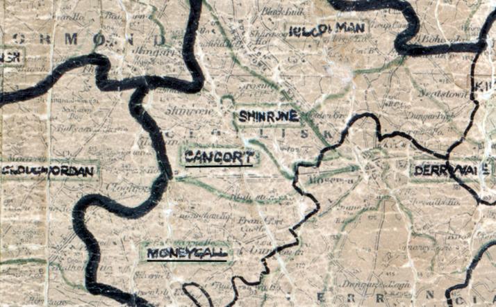 Cangort-Map-portlaoise