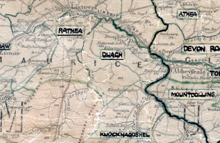 Duagh-Map-tralee