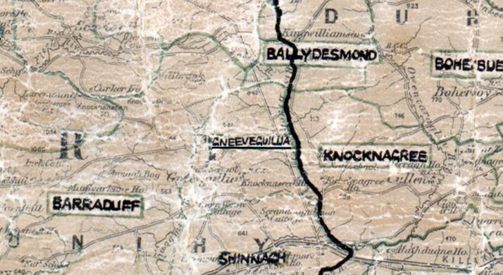 Gneeveguilla-Map-tralee