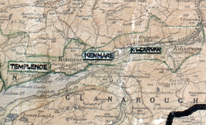 Kenmare-Map-tralee