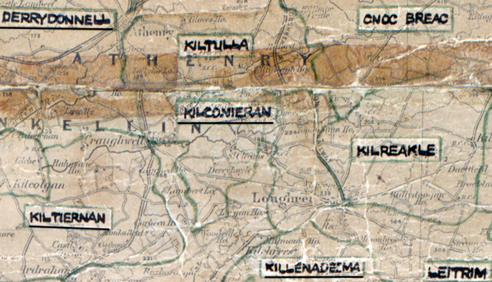 Kilconiernan Map -GALWAY-big