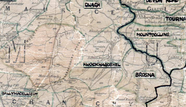 Knocknagoshel-Map-tralee