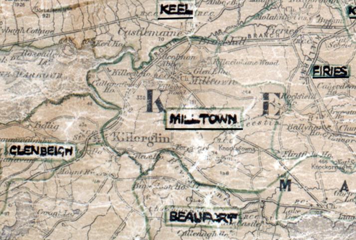 Milltown-Map-tralee
