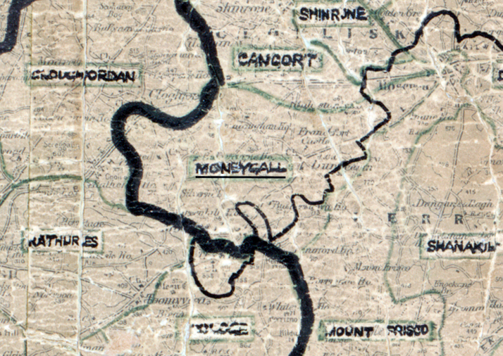Moneygall-Map-portlaoise