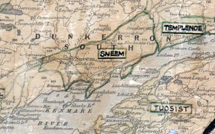 Sneem-Map-tralee