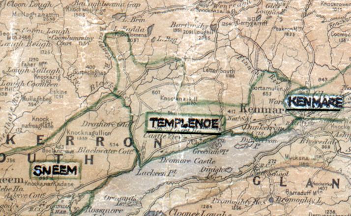 Templenoe-Map-tralee