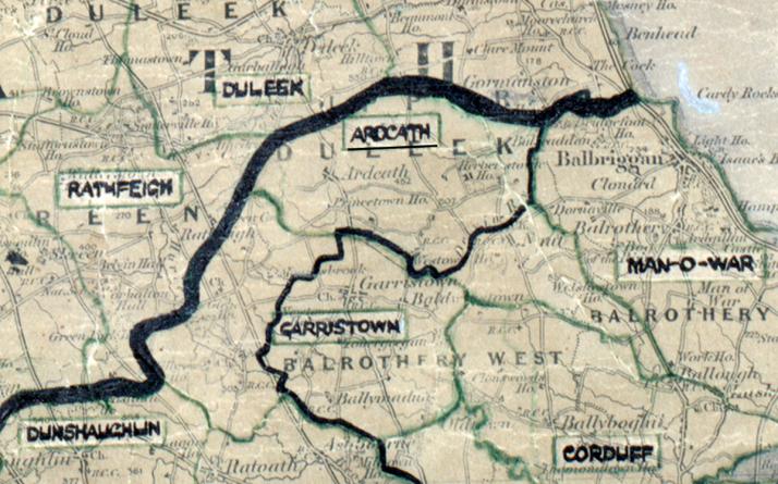 Ardcath-Map-dublin