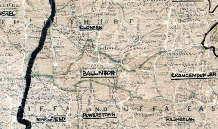 Ballinure-Map-waterford