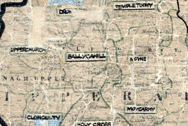 Ballycahill-Map-portlaoise