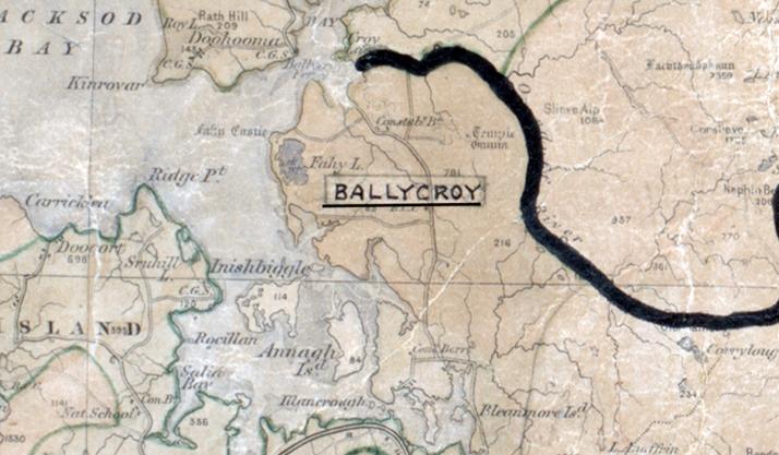 Ballycroy-Map-GALWAY-big