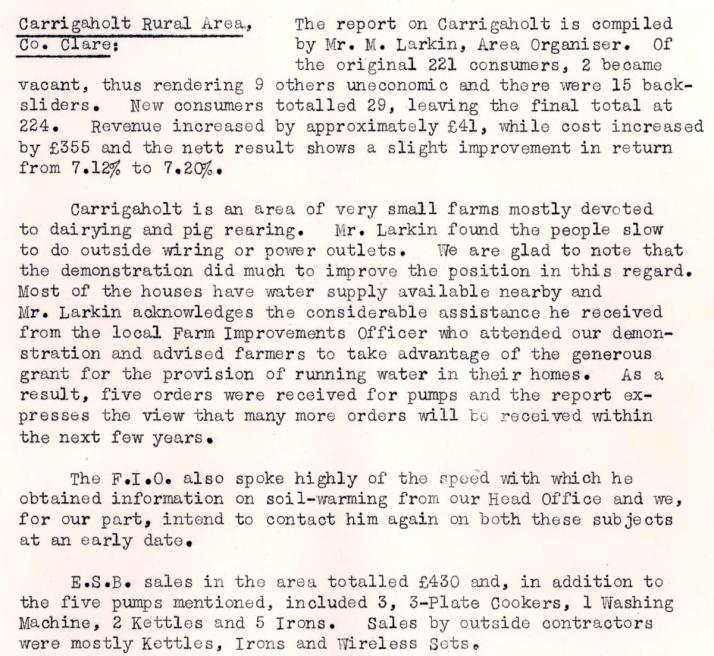 Carrigaholt-R.E.O.-February-1953-P