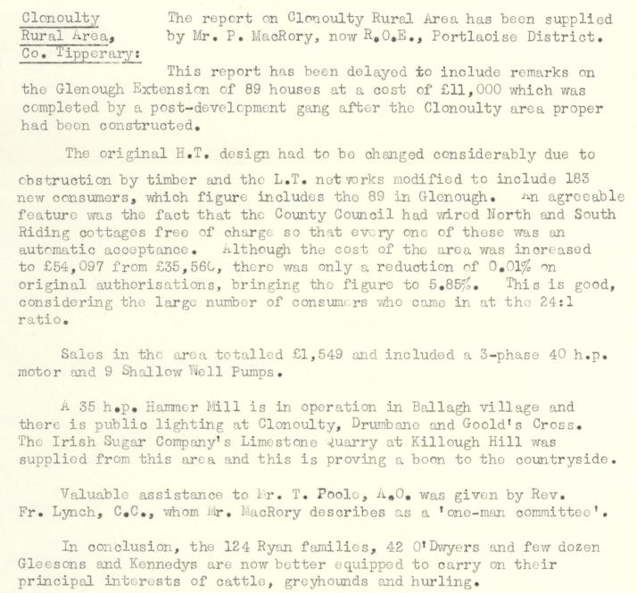 Clonoulty-R.E.O.-May-1954-P