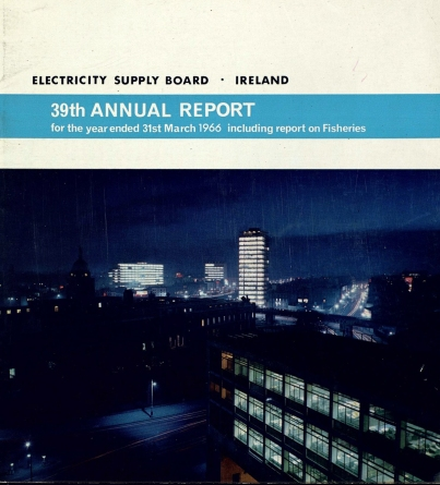 Cover of Annual Report 31st March 1966