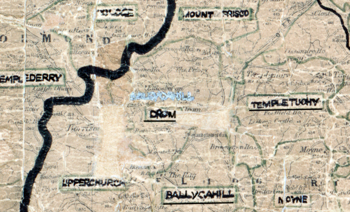 Drom-Map-portlaoise