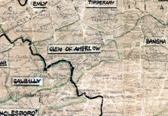 Glen-of-Aherlow-Map-limerick